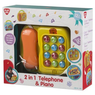Piano Telefone Eletrónico Play Go