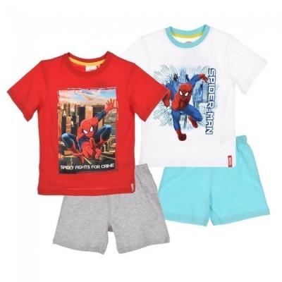 Pijama 100% algodão Spiderman Marvel