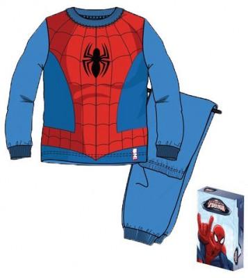 Pijama algodão interlock com caixa de Spiderman