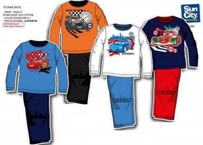Pijama Cars dos 2 aos 6 Anos