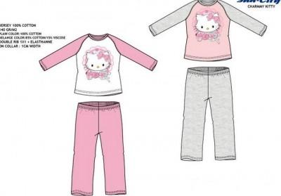 Pijama Charmmy Kitty dos 8 aos 10 Anos