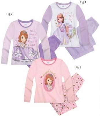 Pijama de manga comprida Disney Princesa Sofia