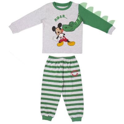 Pijama Interlock Mickey Dinossauro