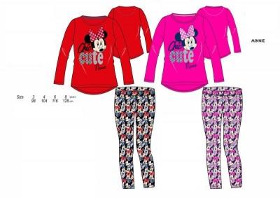 Pijama Outono Disney Minnie Chic and Cute