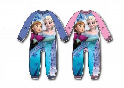 Pijama polar inteiro Frozen, sortido