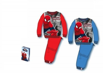 Pijama Polar Marvel Spiderman City