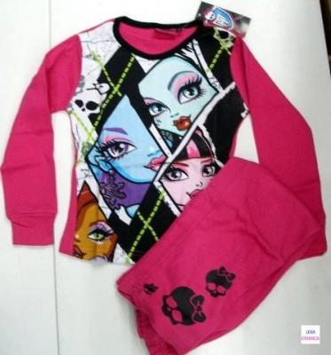 Pijama Princesas Monster High