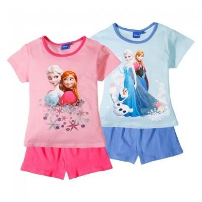 Pijama Verão Frozen Elsa