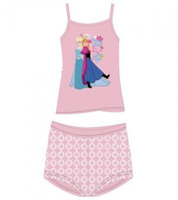 Pijama Verão Frozen Pink (pack 4Und)