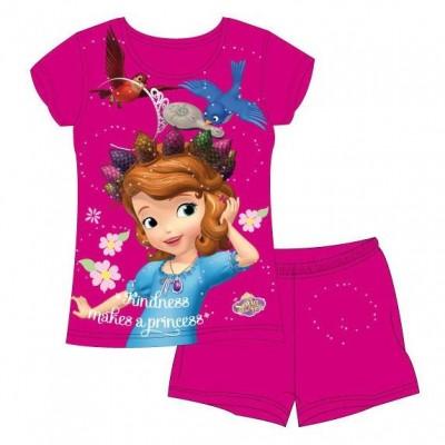 Pijama Verão Princesa Sofia Disney