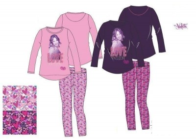Pijama Violetta Disney love passion