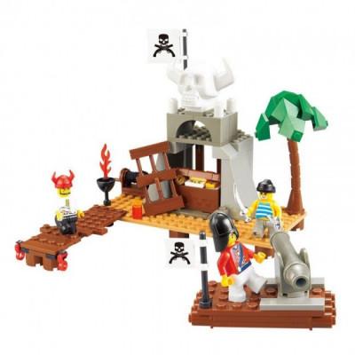 Pirate A Caverna do Tesouro Sluban 142 pcs