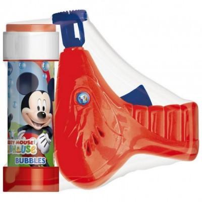 Pistola Bolas  de sabão Mickey