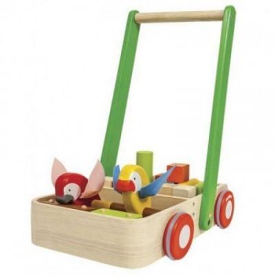 Plan toys - Andador - Pássaro