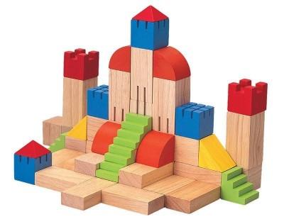 Plan Toys - Blocos Madeira Construção