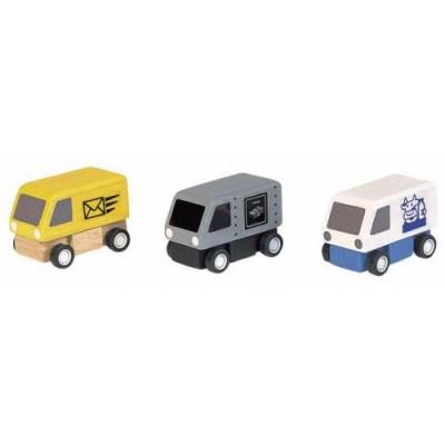 Plan Toys - Carrinhas de Entregas