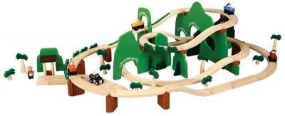 Plan Toys - Conj.Pista 73p. Tema Madeira