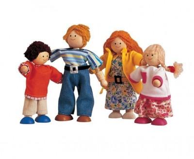 Plan Toys - Fig. Casa Bonecas Madeira