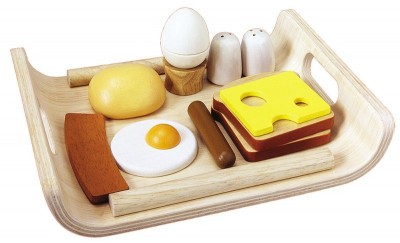 Plan Toys Menú Pequeno Almoço Inglês em Madeira
