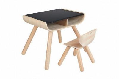 Plan Toys - Mesa e Cadeira Preto
