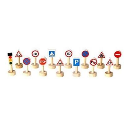 Plan Toys - Sinais e Luzes de Trânsito