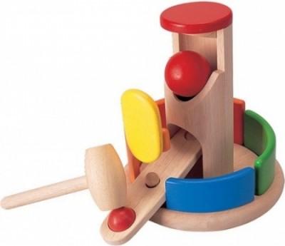 Plan Toys - Torre Martelar Madeira