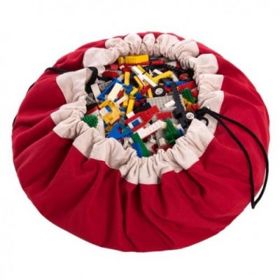 Play&Go Saco Arrumação Vermelho Clássico