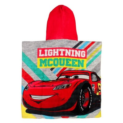 Poncho Toalha Cars Lightning McQueen