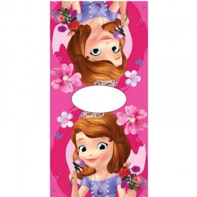 Poncho toalha Disney Princesa Sofia Flowers