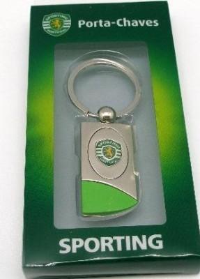 Porta chaves ovalizado Sporting