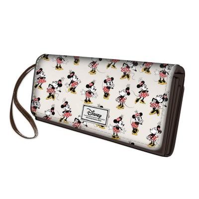 Porta-moedas grande Minnie Disney - Ivory