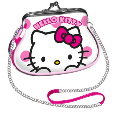 Porta Moedas Hello Kitty Dots Mini Retro