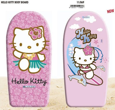 Prancha Bodyboard Hello Kitty