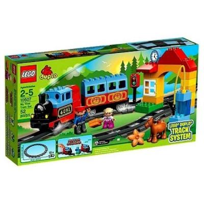 Primeiro Comboio Lego Duplo