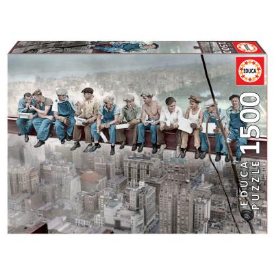 Puzzle Almoço em Nova York 1500 pcs