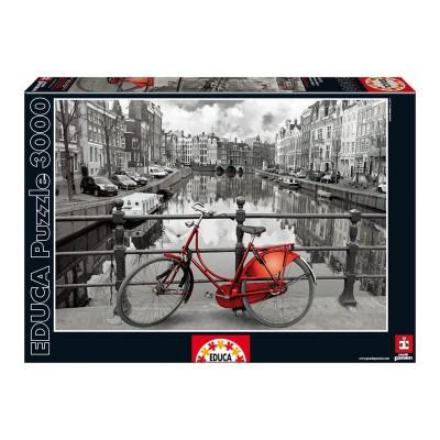 Puzzle Amsterdam Coloured Black & White 3000 pcs