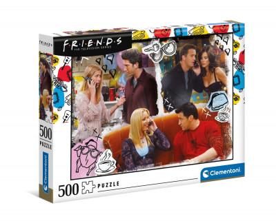 Puzzle Friends Série TV 500 Peças