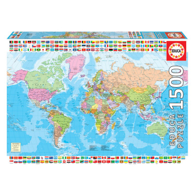 Puzzle Mapa do Mundo 1500 pcs