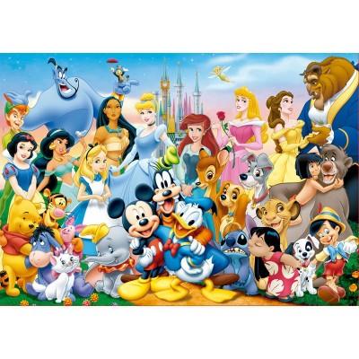 Puzzle Maravilloso Mundo Disney 100 pçs