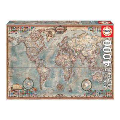 Puzzle O Mapa Politico Mundial 4000 pcs