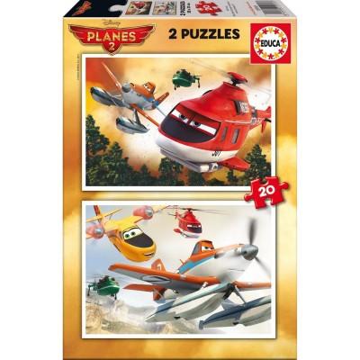 Puzzle Planes Dusty Rescue 20pcs