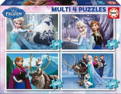 Puzzle Quadruplo Frozen