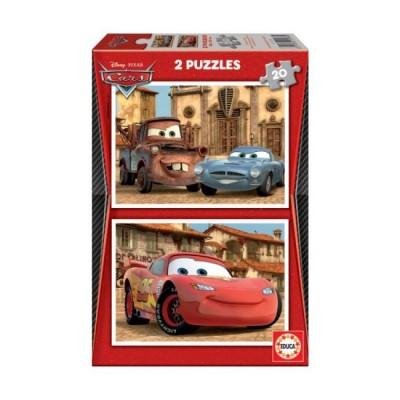 Puzzles Infantis 2x20 Cars