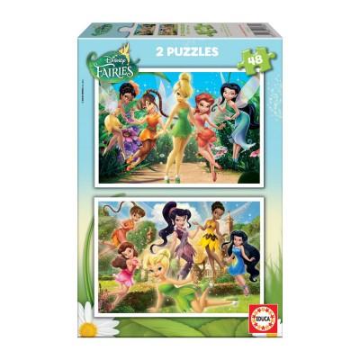 Puzzles Infantis 2x48 Fadinha Sinhinho