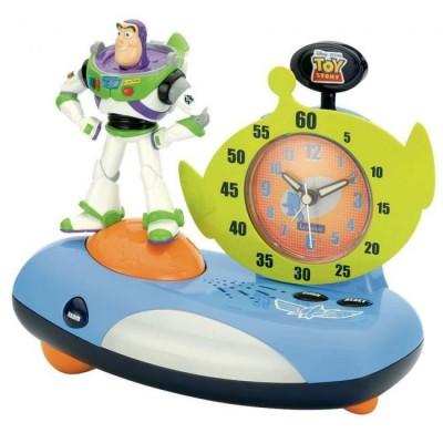 Rádio Despertador c/ Luz Noturna Toy Story