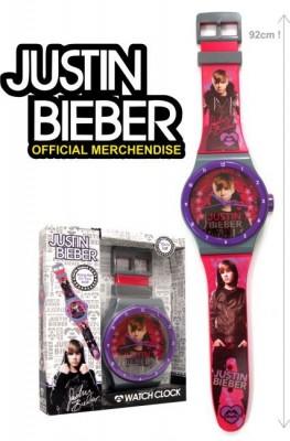 Relógio de parede gigante Justin Bieber