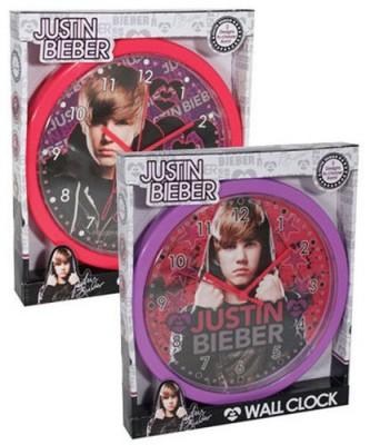Relógio de parede Justin Bieber (2 cores)