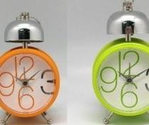 Relógio despertador metal