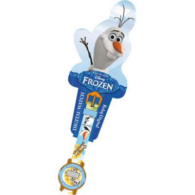 Relogio Digital Frozen Olaf