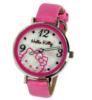 Relógio Hello Kitty  caixa metálica